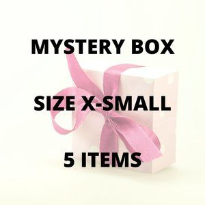 5 Item MYSTERY BOX with a twist! - Size X-Small